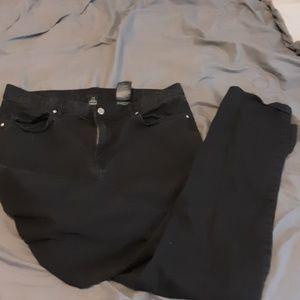 Black skinny Jean's